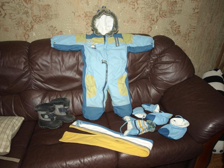 Зимний  костюм  Deux  par  Deux  для  мальчика  24  м  б/у