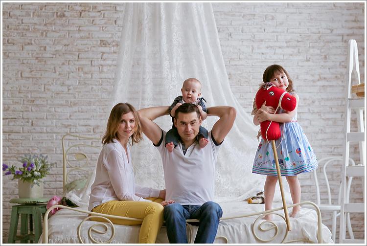 Большой пост с семейными фотографиями