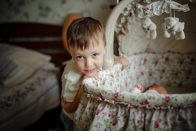 Наша Есения. Первые деньки дома) ФОТО