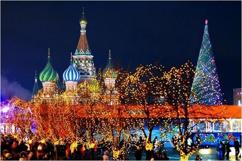 Рождественская карусель.