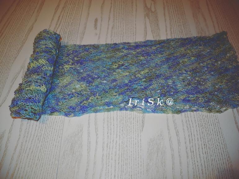 образцы вязания из ализе пуффи