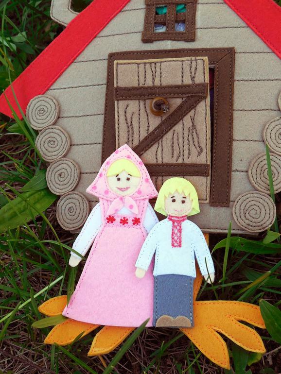 Настольный кукольный театр своими руками: выкройки и описание 62