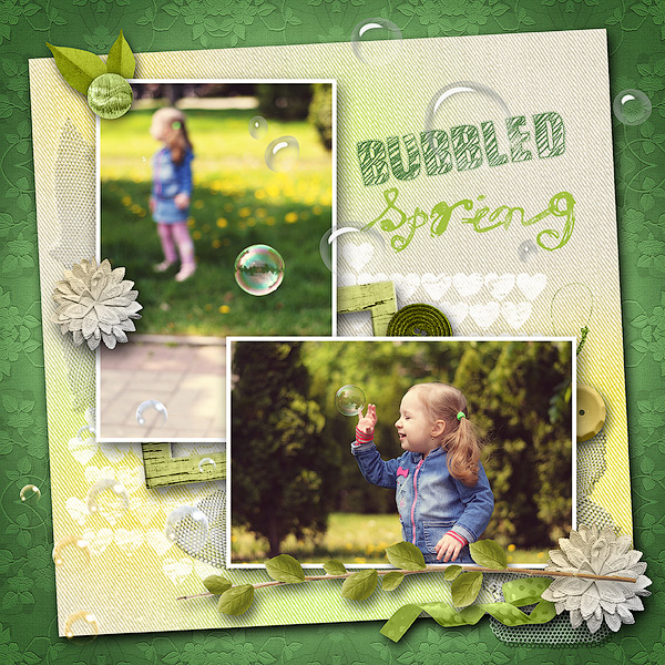 Bubbled Spring