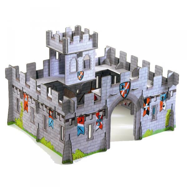 Замок рыцарских легенд сделано своими руками