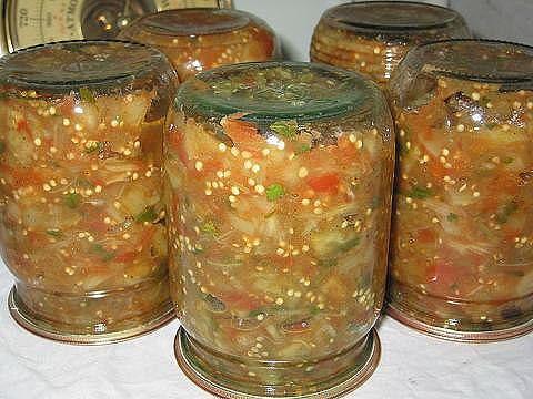 Рецепт икры из баклажан на зиму фото