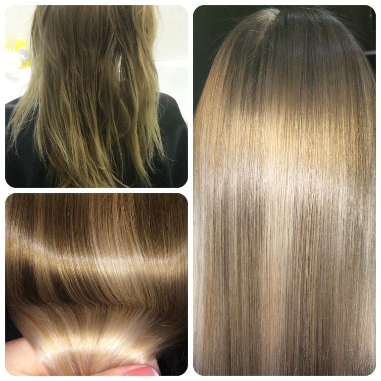 Как делать ботокс волос пошагово