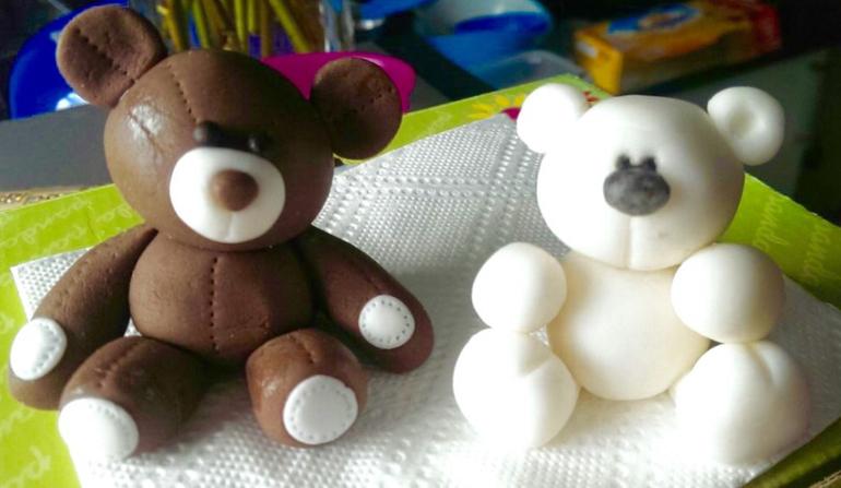 Фигурки для торта из мастики своими руками для мальчика