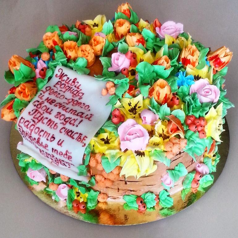 белковые торты на годовщину фото