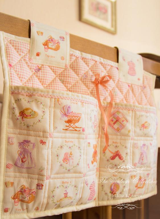 Сшить кармашки в кроватку для новорожденных своими руками