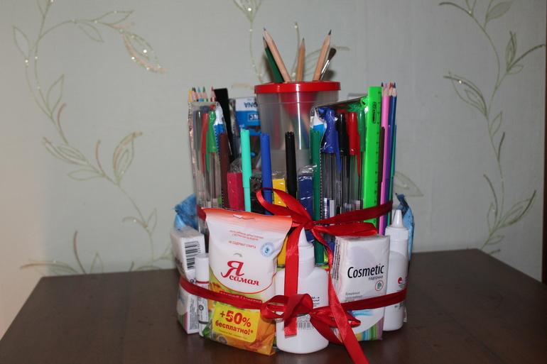 Подарки для школы своими руками