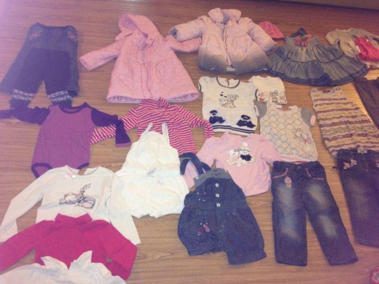 Набор детской одежды Burberry, Catimini, Il gufo, De salitto, Missoni,  Monalisa, Il trenino и т д  19 обновок всего за 7000руб
