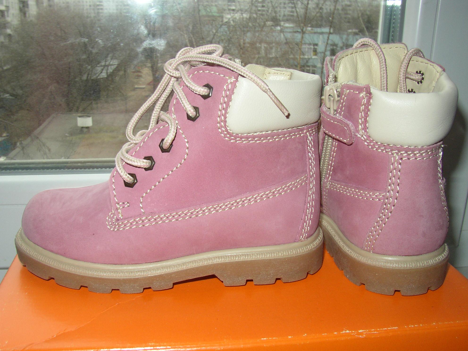 Новые ботинки Chicco 26 размер