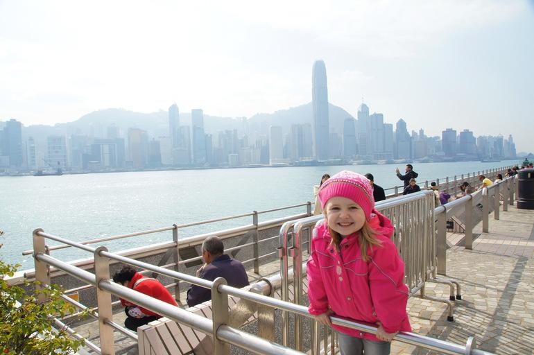 Гонконг с детьми