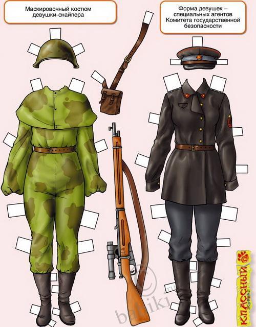 Как сделать военную форму меньше