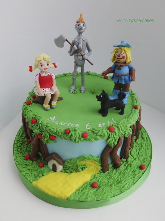 торт волшебник изумрудного города фото