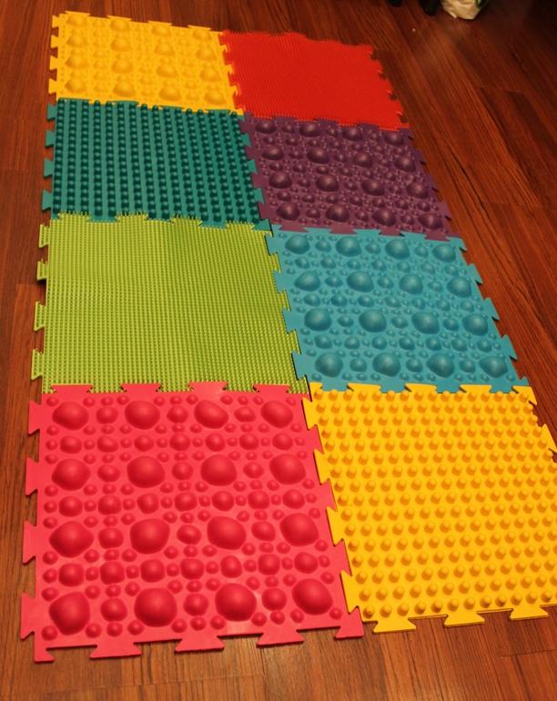 Как сделать резиновый коврик для детей