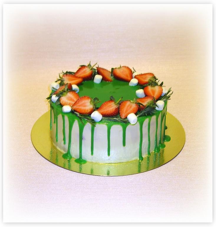 Зеленая глазурь для торта рецепт