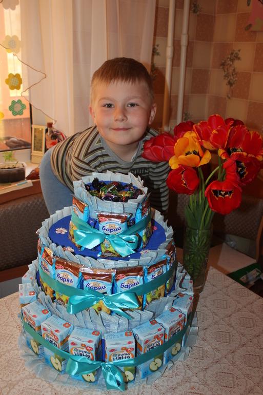 Как сделать торт своими руками детям