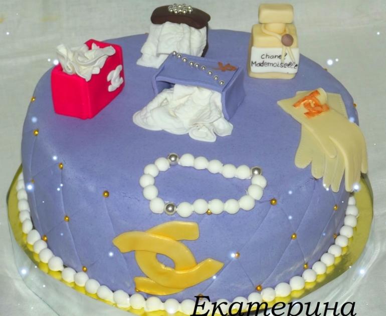 Несколько тортиков для милых дам
