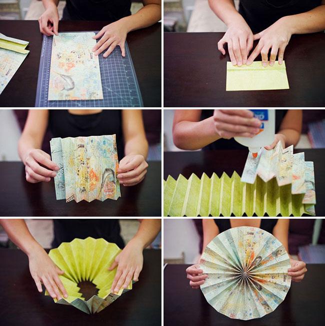 Как сделать декор из бумаги