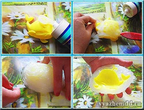 Как сделать форму из силикона для мыла своими руками