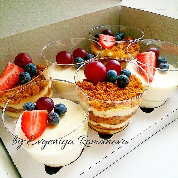 Рецепт десерта в стаканчиках с фото