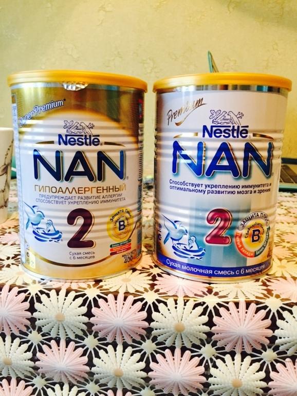 Детское питание Nan Гипоаллергенный 2 Optipro HA | 770x578