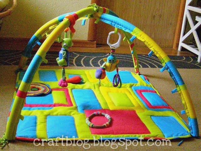 Развивающий коврик своими руками с дугами мастер класс