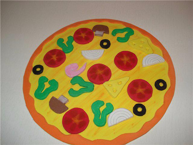 Игра собери пиццу своими руками