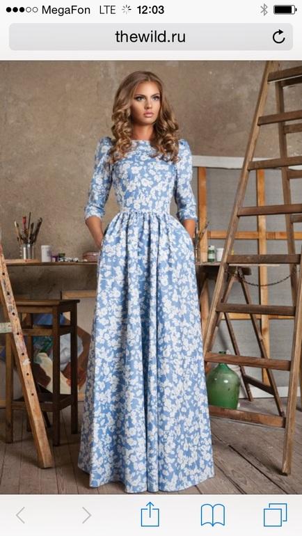 Фото фасонов платьев длинных