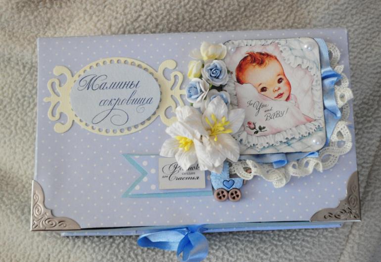 Фотоальбом для малыша, кооробочки