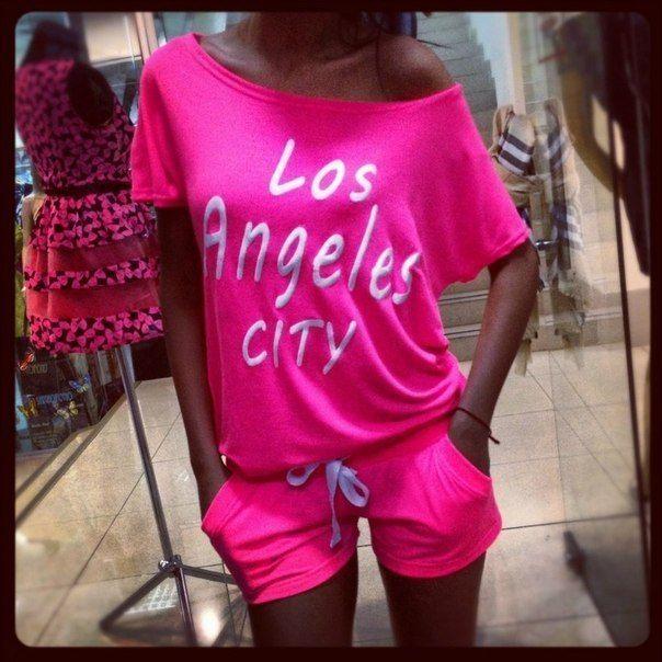 Спортивные Костюмы Женские Лето Los Angeles