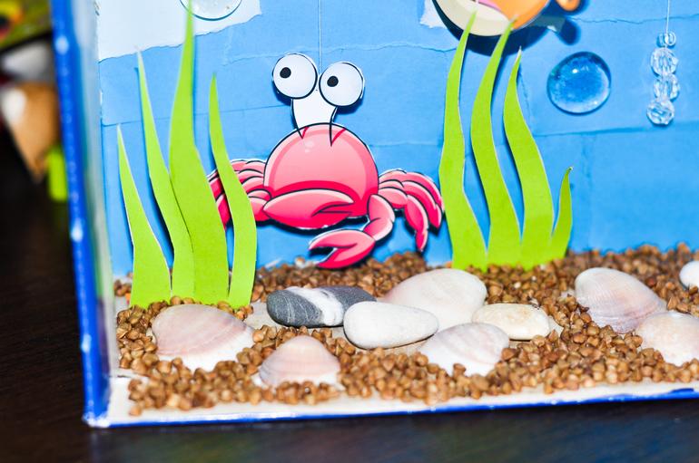 Рыбки для поделки аквариум 788