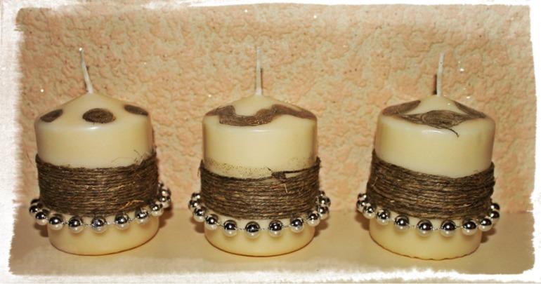Еще  свечечки)
