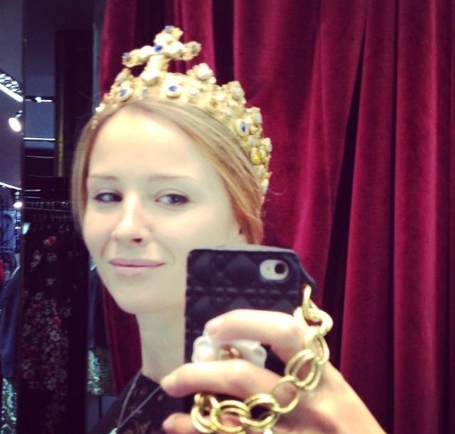 Кружевная  корона