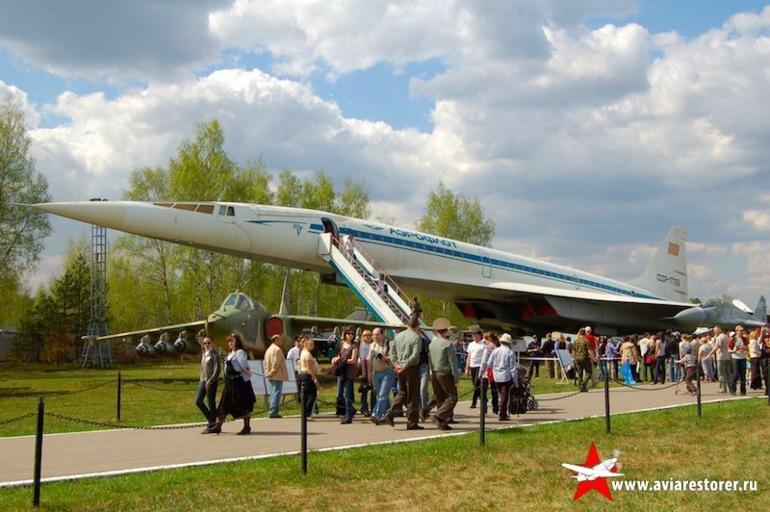 Реставрация ТУ-144