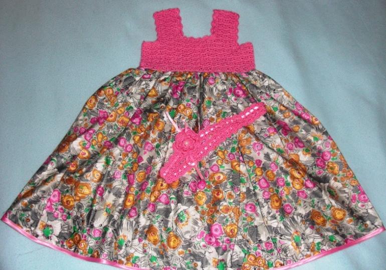 Обменяю платье для маленькой принцессы!(1,5-2 года)