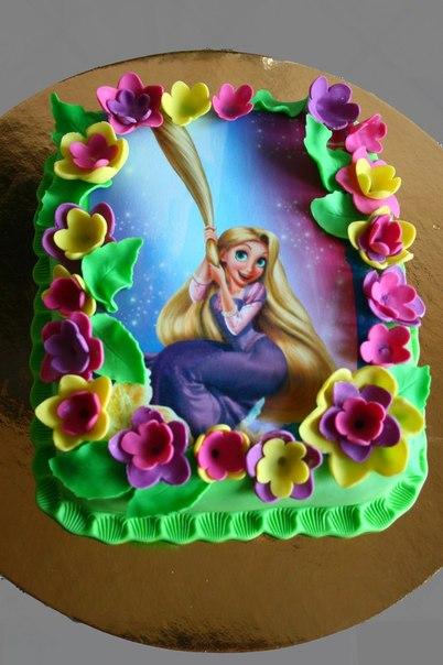 фотопечать на торте как сделать
