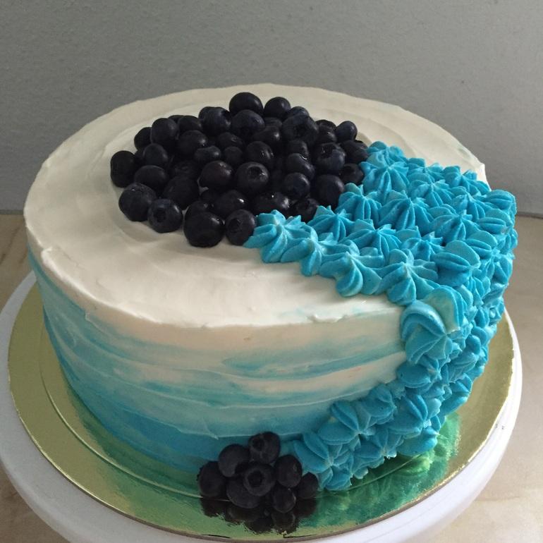 бирюзовый торт рецепт