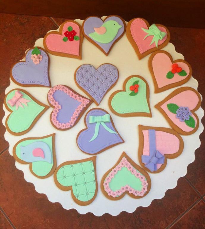 Пряничное печенье рецепты с фото с мастикой мастер класс