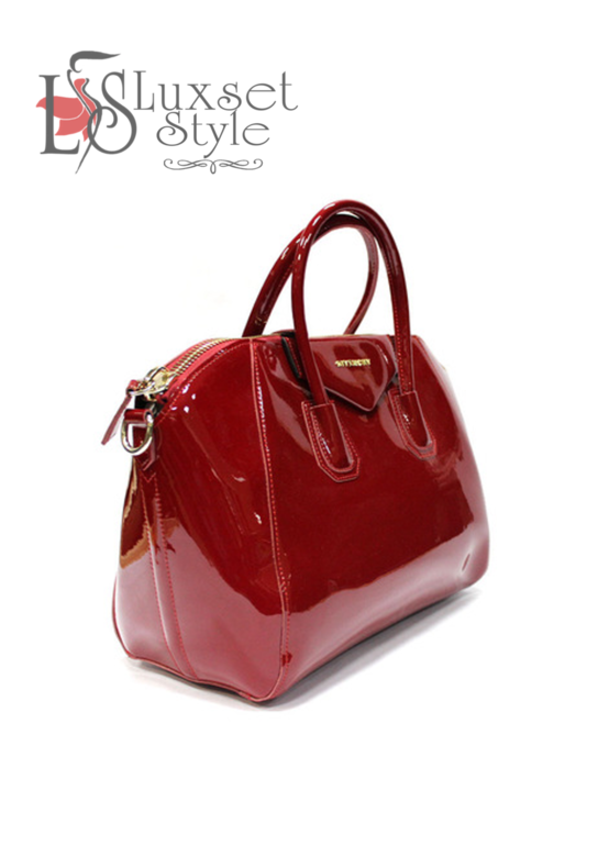KOKETKA BOUTIQUE - черная лаковая сумка марки Givenchy