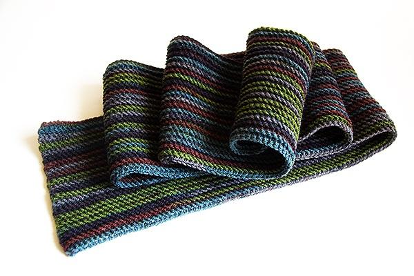 Готовь сани летом ИЛИ мужской полосатый шарф