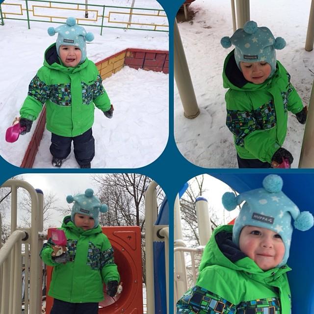Зима  посетила  Москву