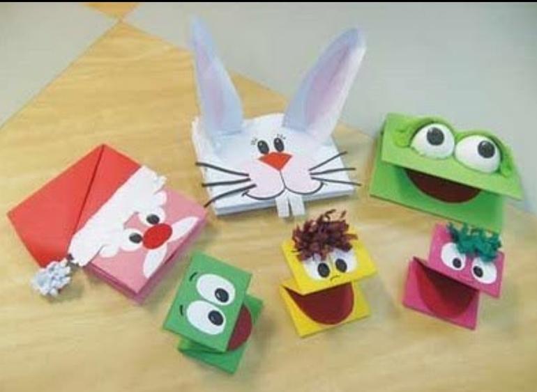 Интересные игрушки из бумаги своими руками