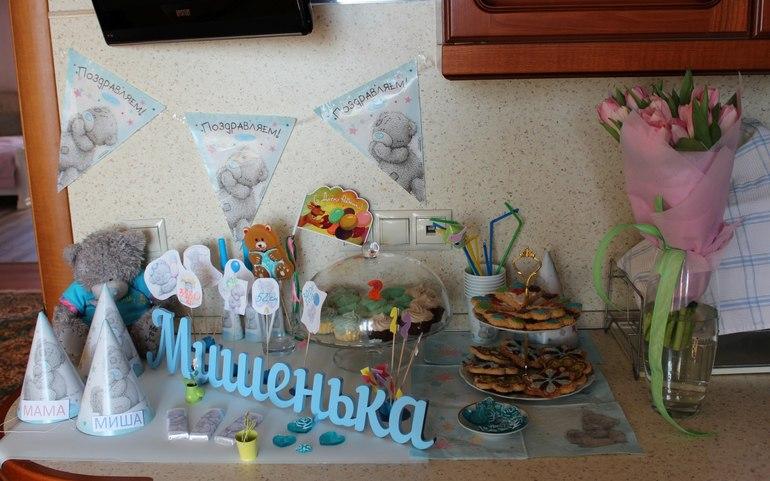 Декор для праздничного стола день рождения