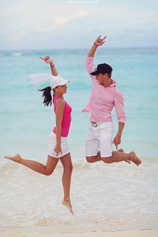 Карибские  приключения  Юли  и  Сережи:)