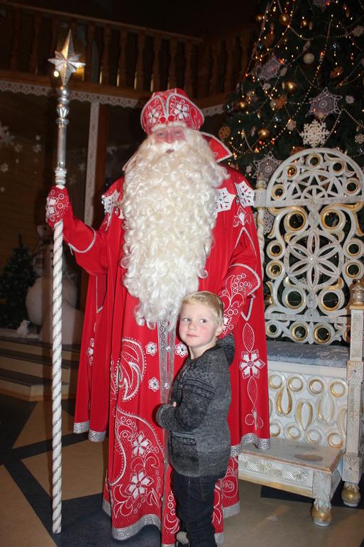 В гостях на Вотчине  Дедушки Мороза
