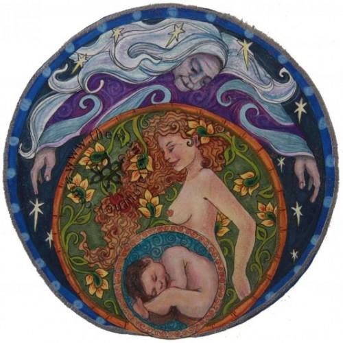 Мандала на беременность и зачатие