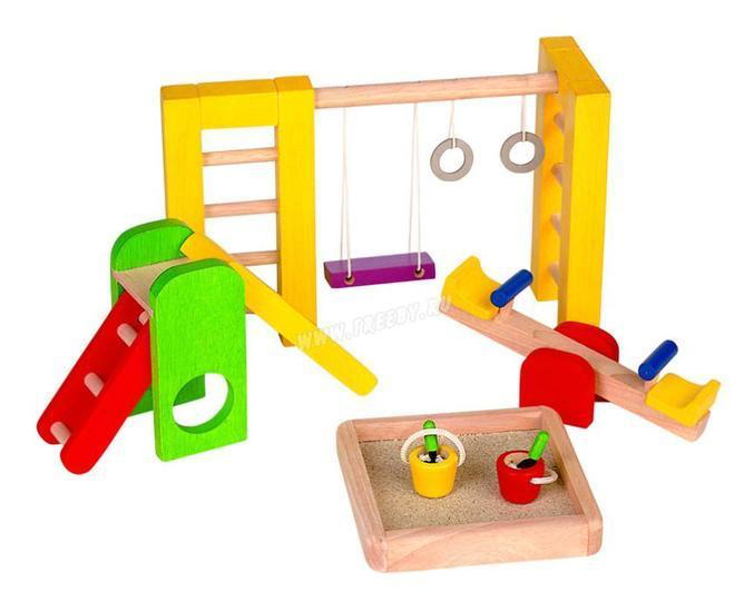 Игрушечная детская площадка