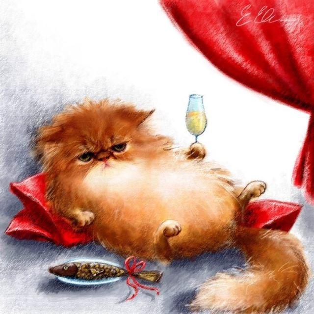 Когда день рыжего кота